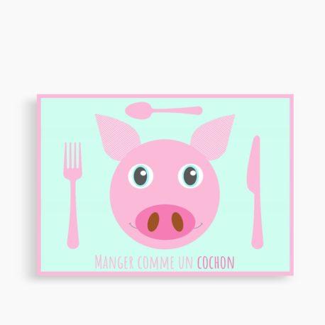 """Set """"Manger comme un cochon"""""""