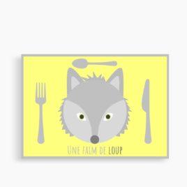 """Le set """"Une faim de loup"""" (personnalisable)"""