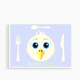 """Le set """"Un appétit d'oiseau"""" (personnalisable)"""