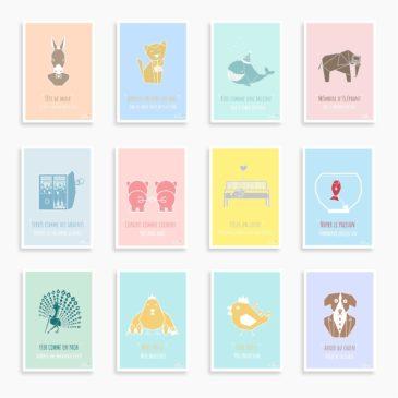 "Les petites cartes des ""Z'expressions"""