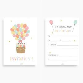 Cartes d'invitation MIXTE